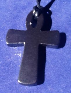 Hematite Cross Pendant