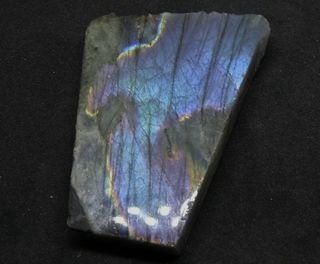 Labradorite Slab Polished One Face Great Colour